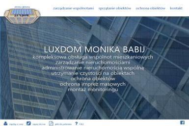 LUXDOM Monika Babij - Usługi Szkoleniowe Ząbki