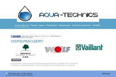 Aqua-Technics Technika Grzewcza - Energia odnawialna Drawsko Pomorskie