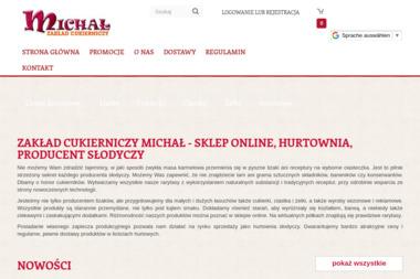 Zakład Cukierniczy Michał - Tworzenie Sklepów Internetowych Ełk