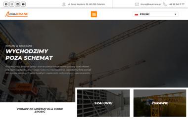Baukrane.pl - Zaplecze budowlane Gdańsk