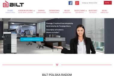 Bilt Polska S.C. - Serwis sprzętu biurowego Radom