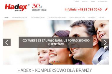 Centrum Zaopatrzenia Budowlanego HADEX Sp.z.o.o. - Bramy garażowe Jastrzębie-Zdrój