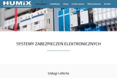 Humix Maciej Kwiatkowski - Instalatorstwo telekomunikacyjne Bydgoszcz
