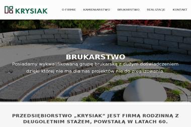 Zakład Betoniarski Wyrób Nagrobków Włodzimierz Krysiak - Brukowanie Dąbie