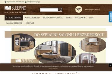 Telmex Sp. z o.o. Zakład produkcyjny MMI Sleeping - Meble Biskupiec
