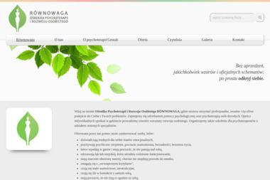 RÓWNOWAGA Ośrodek Psychoterapii i Rozwoju Osobistego - Psychoterapia Wrocław