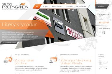 Studio Propaganda - Reklama internetowa Częstochowa