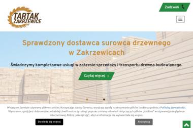 Zakład Przetwórstwa Drzewnego Piotr Nowak - Skład drewna Książ Wielkopolski