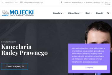 Dariusz Mojecki Kancelaria Radcy Prawnego - Prawnik Kraków