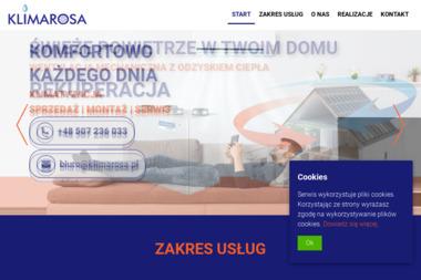 KLIMAROSA USŁUGI, SPRZEDAŻ Ryszard Rosa - Instalacje sanitarne Płock