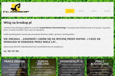 F.U. KROSKOP Jacek Chodak - Wzmacnianie Fundamentów Pruszków