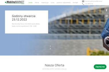 Mobilny Market Sp. z o.o. - Dostawcy płyt G-K Wieliczka
