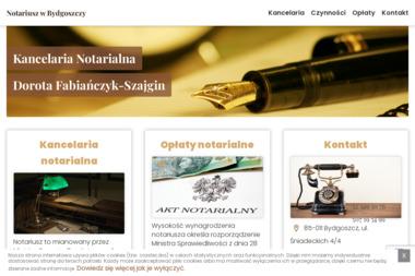 Kancelaria Notarialna Dorota Fabiańczyk Szajgin - Pisma, wnioski, podania Bydgoszcz