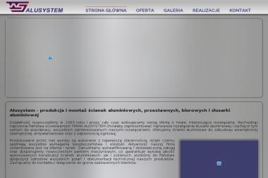 ALUSYSTEM Witold Szczepański - Okna Kluczbork
