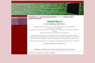 Smartbels Smart Building Electronics Marcin Wojciechowski - Inteligentny dom Warszawa
