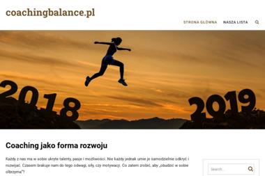 Coaching Balance Joanna Jagielska - Szkolenia Cz臋stochowa