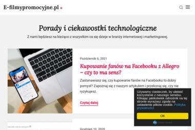 E-filmypromocyjne.pl - Wideofilmowanie 艁apy