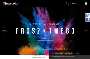 Intercolor Sp z o.o. - Piaskowanie na Mokro Jelcz-Laskowice