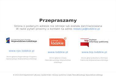 Departament Przedsiębiorczości UM Woj. Łódzkiego - Serwisy Internetowe Łódź
