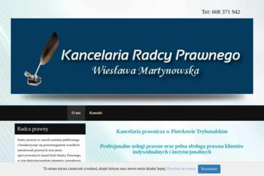 Martynowska Wiesława Kancelaria radcy prawnego - Porady Prawne Piotrków Trybunalski