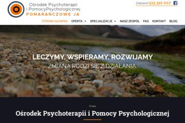 Ośrodek Psychoterapii Pomarańczowe Ja - Psycholog Poznań