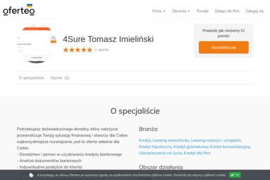 4Sure Tomasz Imieliński - Ubezpieczenia Katowice