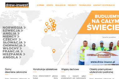 Drew-Inwest - Domy Drewniane Bielsko-Biała