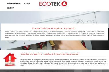 ECOTEK Sebastian Kalinowski - Instalacje grzewcze Katowice