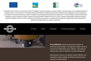 IRONTECH - Dla przemysłu spożywczego Ujście
