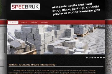 """""""Specbruk"""" s.c. Sebastian & Mariusz Mazur - Roboty ziemne Mirosławiec"""