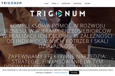 Trigonum Sp. z o.o. - Dotacje unijne Gdynia