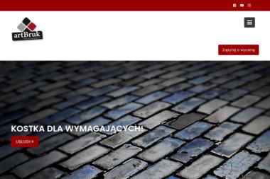 ArtBruk Marcin Boczkowski - Układanie kostki granitowej Serock