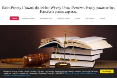 Kancelaria Radcy Prawnego Kan-Lex Krzysztof Kańczugowski - Pomoc Prawna Warszawa