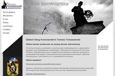 Zakład Usług Kominiarskich Tomasz Tomaszewski - Kominki Narożne Krzepice