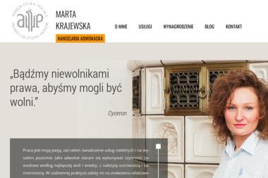 Kancelaria Adwokacka Adwokat Marta Krajewska - Porady Prawne Katowice