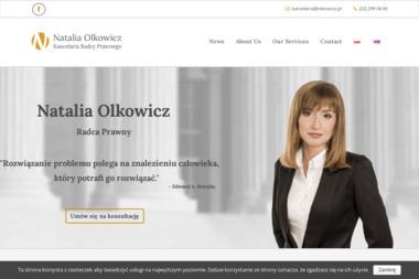 Natalia Olkowicz Kancelaria Radcy Prawnego - Prawnik Warszawa