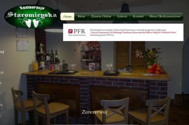 Restauracja Staromieyska - Gotowanie Będzin