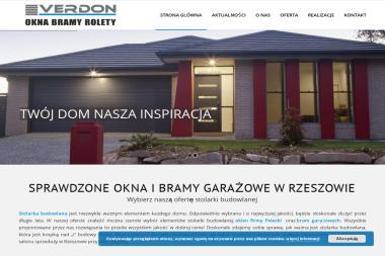 Verdon - Drzwi Rzeszów