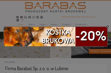 Firma Barabaś Sp. z o.o. - Ogrodzenia betonowe Lubin