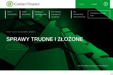 CONTACT FINANCE Sylwester Pobiarzyn - Kredyt konsolidacyjny Gdańsk