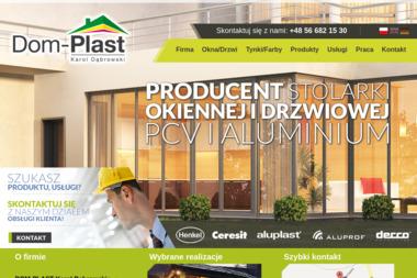 Dom-Plast - Okna z PCV Golub-Dobrzyń