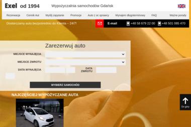 Exel Gdynia - Wypożyczalnia samochodów Gdynia