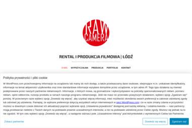 RAW CAMERA - Rental i Produkcja filmowa - Filmy na zamówienie Łódź