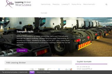 F4B Leasing Broker o.Warszawa - Leasing Warszawa