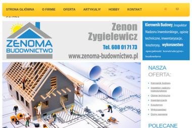 Zenoma Budownictwo - Kosztorysowanie Zielona Góra