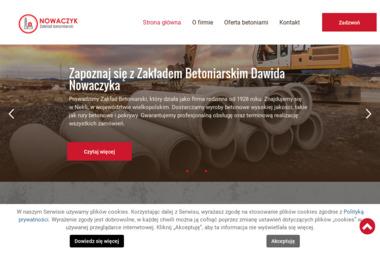 Zakład betoniarski Nowaczyk Tomasz - Skład budowlany Nekla