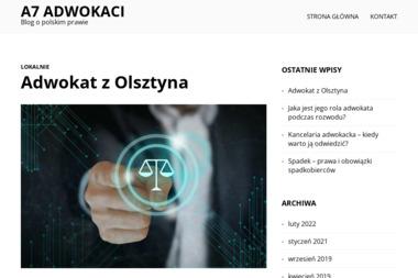 Kancelaria A7 Adwokaci - Adwokat Rzeszów