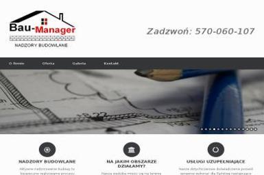 BAU-MANAGER - Nadzór budowlany Oława