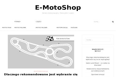 E-motoshop.pl - Motocykle Wyrzysk
