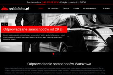 PoKielichu.pl Odprowadzanie samochodów - Przewóz osób Warszawa